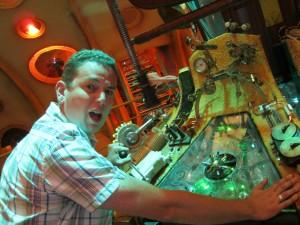 Cavan Scott TARDIS console