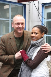 David Benson and Ayesha Antoine