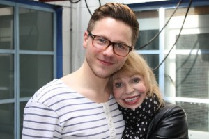 David Ames and Katy Manning