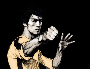 Bruce Lee by KSE322 via deviantart