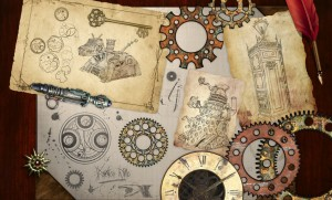 Steampunk Doctor Who wallpaper. Grab yours at Aberrant Rhetoric