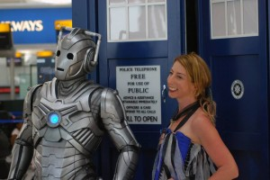 Jenny and a friend (who unfortunately won't be with us on the 25th September!)