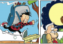 Roger the Dodger stripped down (or how Beano artist Wayne Thompson produces his ace art!)