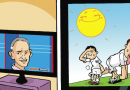 The England football team feels the heat in this week's Beano
