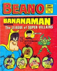 Bananaman-comic-library