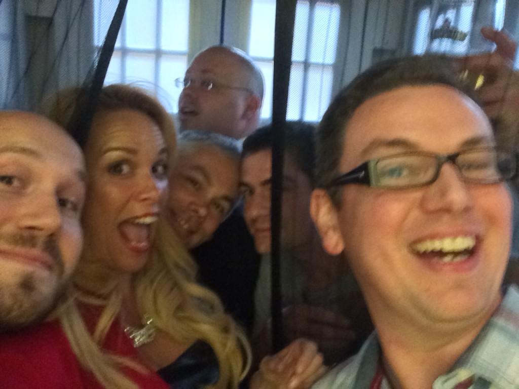 Tardis-selfie