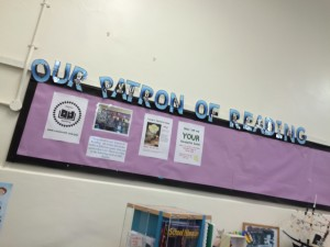Patron-of-reading-board