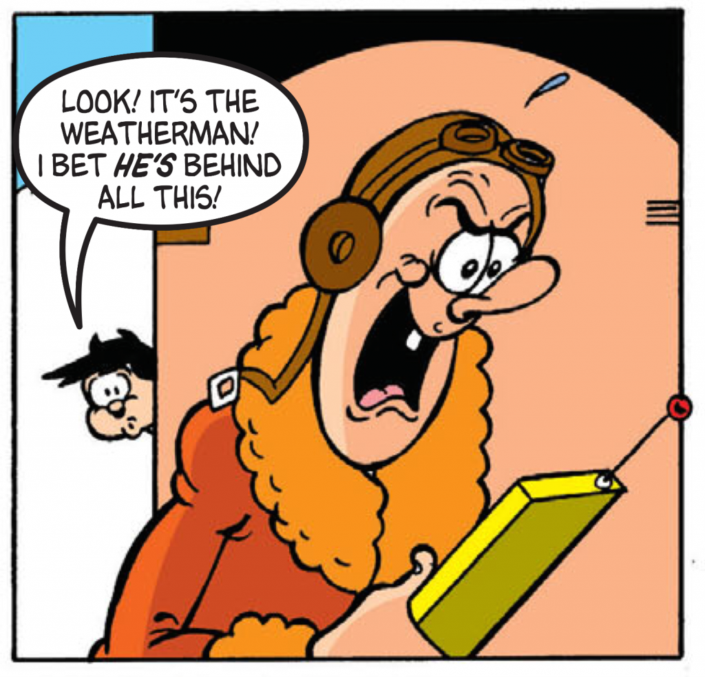 The Weatherman Returns In This Week's Beano, Plus A Dodge