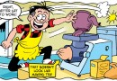 Bananaman gets moth-eaten while Roger brews up in this week's Beano!