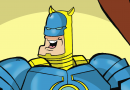 Meet Iron Banana, plus Sir Dodge-a-lot and Mount Gnashmore in this week's Beano