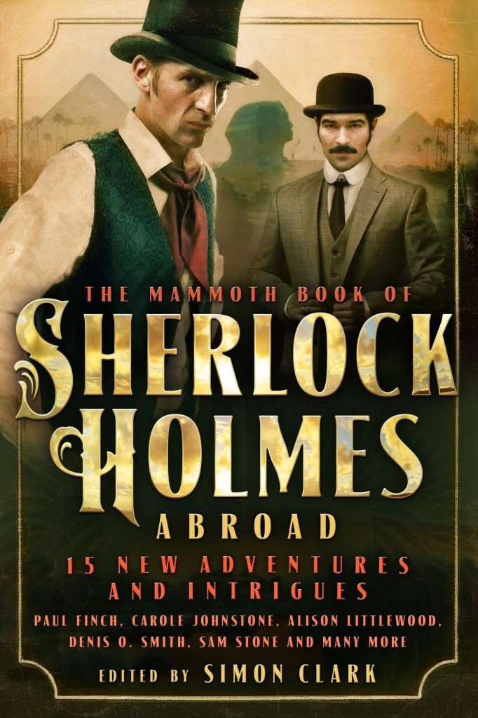MBO Sherlock Holmes Abroad UK cover
