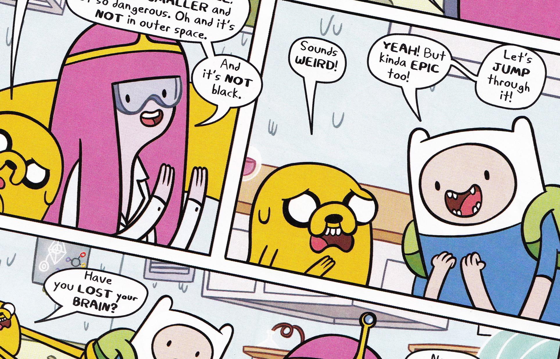 New Adventure Time Comic Strip – Swap or Not – Cavan Scott