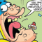 Things turn ugly for Bananaman and Roger the Dodger's Dad gets interviewed in this week's Beano