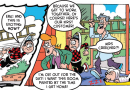 Roger gets painting and Bananaman has a food fight in this week's Beano!