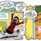 Bananaman takes a dive and Roger teams up with Minnie the Minx in this week's Beano.