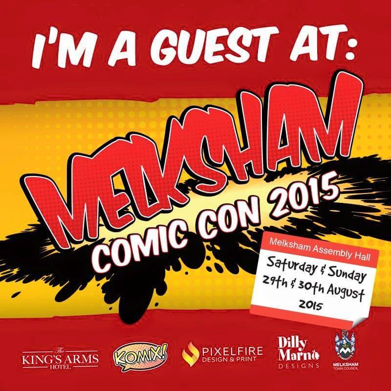 Free Comic Book Day 2015: My Melksham Comic Con Schedule