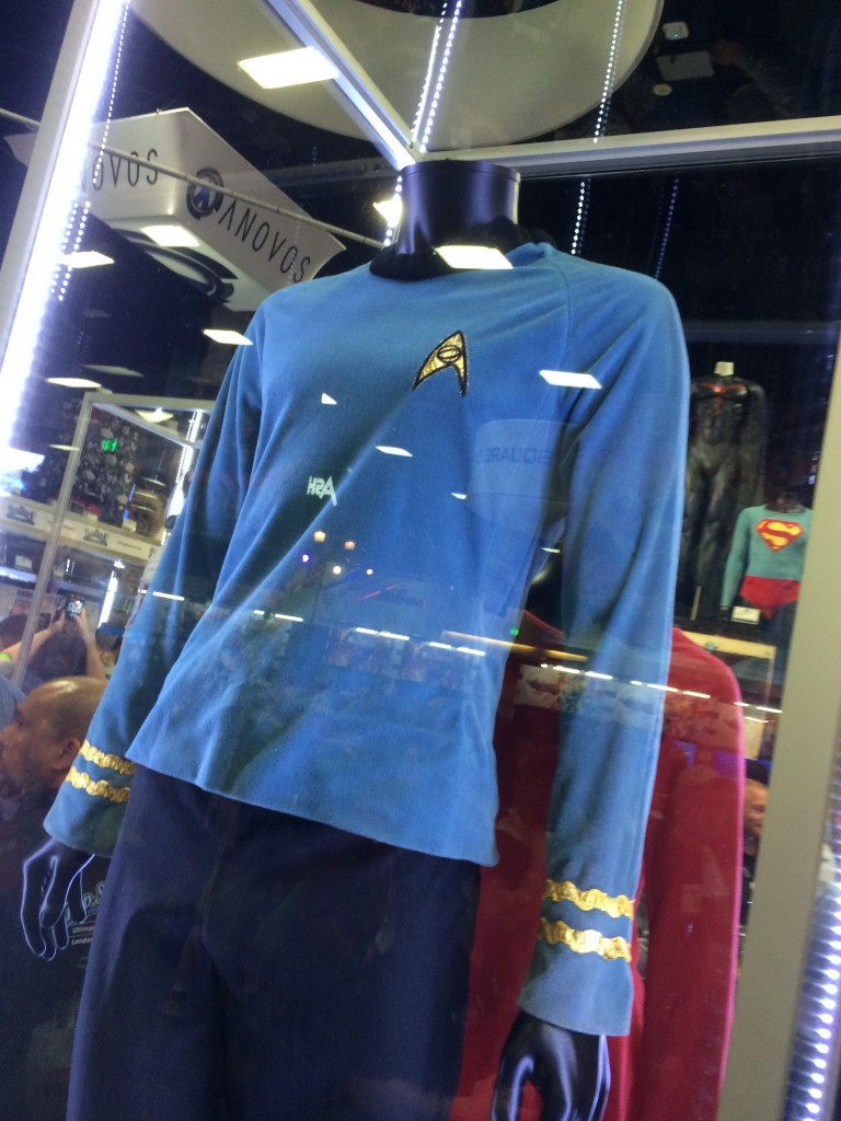 No posing Cav this time, but SPOCK'S ACTUAL COSTUME PEOPLE!
