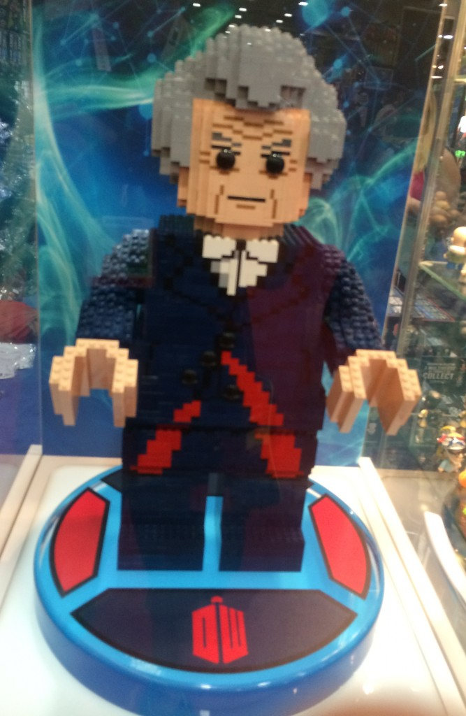 More LEGO. Meet the Doctor.
