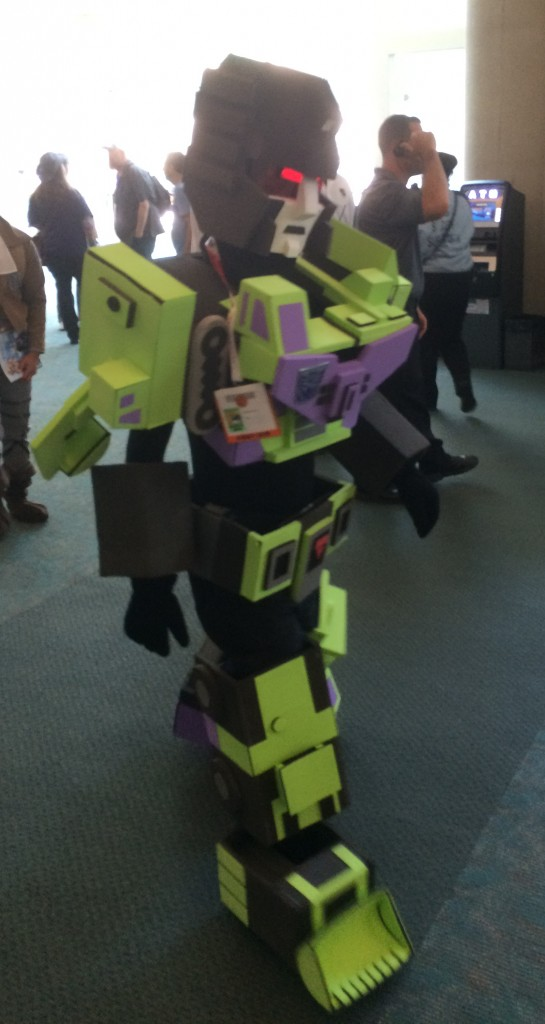 Devastator walks the floor