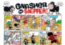 Gnasher and Gnipper face a Dennis decoy in this week's Beano