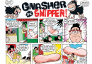 Gnasher, Gnipper, Minnie the Minx, Penguins, Crime and outlining novels!