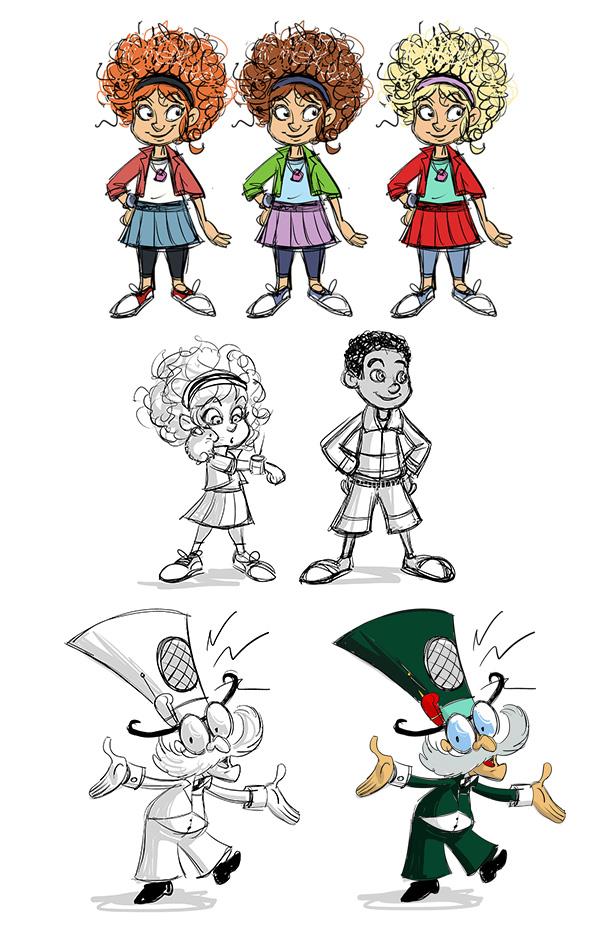 draft illustrations - Adventure Park (3)