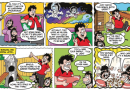 Gnasher and Gnipper head for the stars in this week's Beano