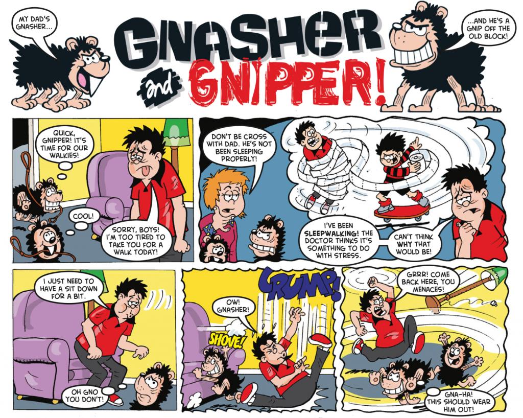 Gnasher-sleep-walkies