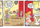 Gnasher and Gnipper fetch and Minnie the Minx gets tapping in this week's Beano!