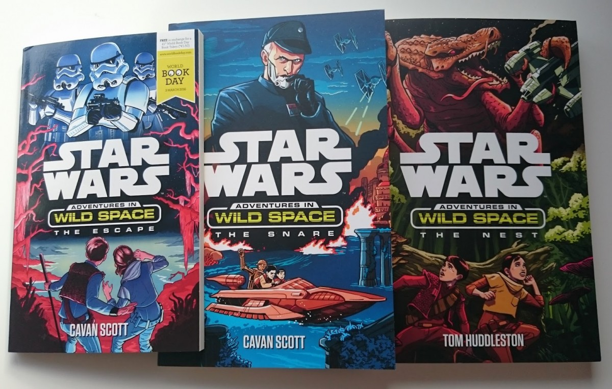 New book day! Meet the characters from Star Wars