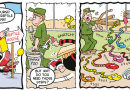 Gnasher and Gnipper dig deep and Minnie has fun and games in this week's Beano