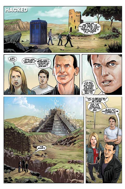 Doctor Who Free Comic Book Day 2016 Sneak peek! – Cavan Scott