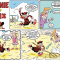 Minnie the Minx hits the beach in this week's Beano!