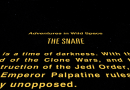 Star Wars Adventures in Wild Space: The Snare hits the big screen (sort of!)