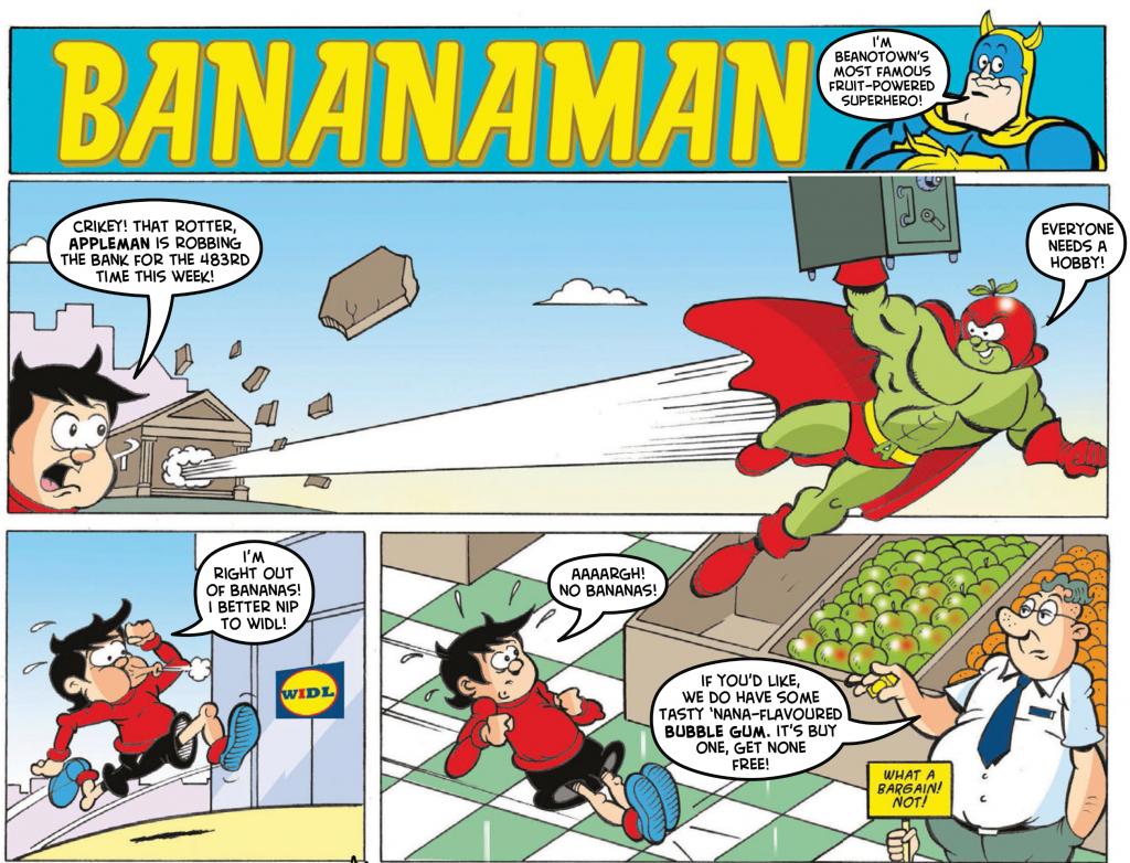 Bananaman-Appleman