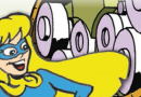 Introducing the Beano's latest super hero – Bananawoman