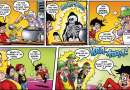 Working with Steve Bright on Bananaman in this week's Beano