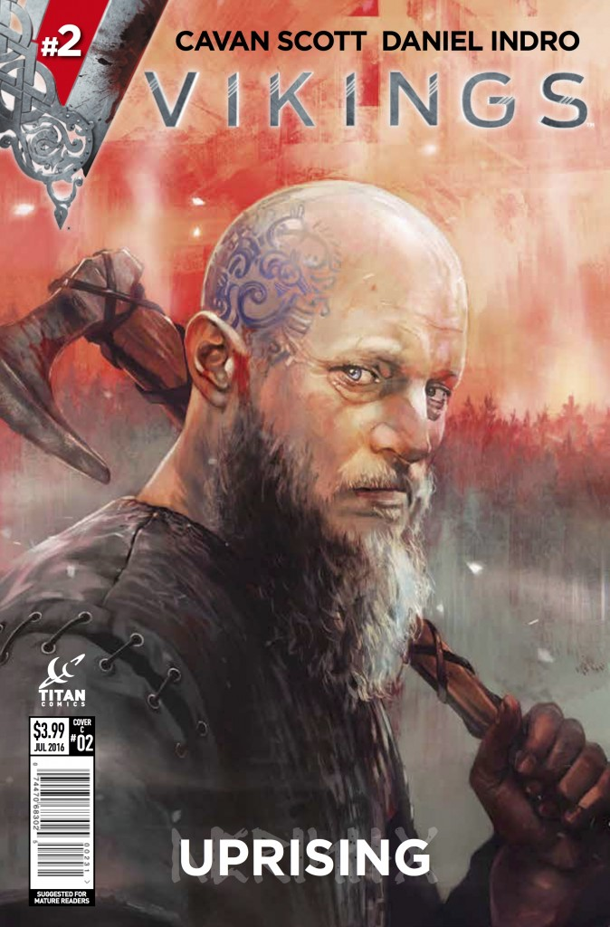 Vikings #2.2 Claudia Caranfa cover