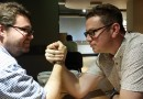 Nerdist & Comic Beat Interview (including arm wrestling with George Mann)