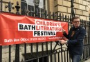 Appearing at the Bath Children's Literature Festival