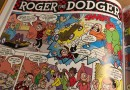 Roger gets Dodging in the 2017 Beano Annual