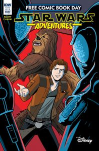 Star Wars Adventures Free Comic Book Day Issue