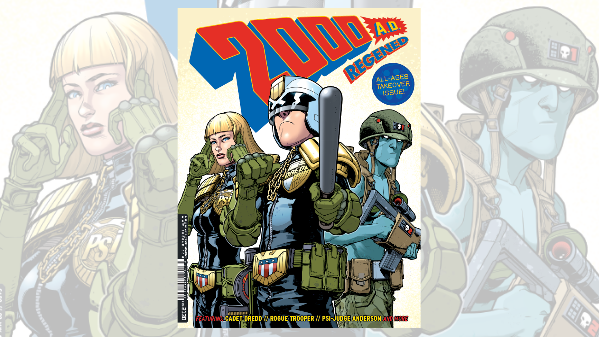Cam Kennedy - Rogue Trooper - 2000AD Prog 288, page 24, in David ... | 1080x1920